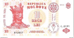 Moldova - Pick 10g - 10 Lei 2013 - Unc - Moldavia