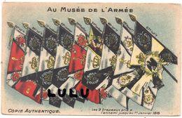 MILITARIA  Autres N° 26 : Les 9 Drapeaux Pris A L Ennemi Jusqu Au 1er Janvier 1915 ( édit. Boige A Paris  ) - Militari