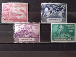 GIBRALTAR - 1949 N° 121/124 ** (voir Scan) - Gibraltar