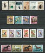 LOT - Animals & Fauna Yugoslavia - **MNH .Animals,Insects,Birds,Mammals,Horses - Stamps