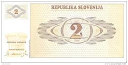Slovenia - Pick 2 - 2 Tolarjev 1990 - Unc - Slovenia