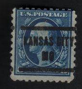 USA 600 SCOTT 467 KANSAS CITY MO TANDING 10 - Estados Unidos