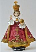 Prager Jesulein ,  Prager Jesuskind - Prazske Jezulatko  , Infant Jesus Of Prague ,  Niño Jesús De Praga Red Dress - Religion &  Esoterik