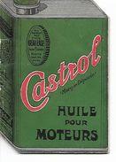 Livret Castrol Huile Pour Moteurs. (Format Bidon D'essence). - Auto