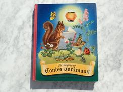 24 NOUVEAUX CONTES D'ANIMAUX - 1953 - ALBUM CHOCOLATS  NESTLE PETER CAILLER KOHLER  - COMPLET TBE /BBS - Bücher, Zeitschriften, Comics