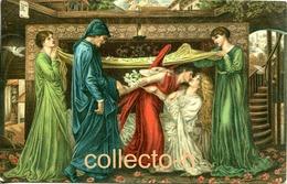 "AK (etwa 1910) Gemälde Von G. Rossetli ""Dantes Traum"". Stengel Verlag - Pittura & Quadri"