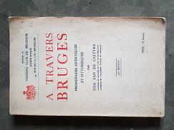 Boek (13 X 21cm) A Travers Bruges Brugge - Antique