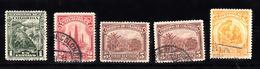 Colombia 1932 Mi Nr  321 + 322 + 323 + 325; - Colombia