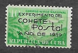YVERT PA 31 VF USED. EXPERIMENTO DE COHETE POSTAL. - Aéreo