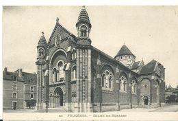35   Fougeres  Eglise De Bonabry - Fougeres