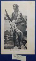 CARTOLINA PRIMI 900 GUERRIER SOUDANAIS (SX655 - Sudan