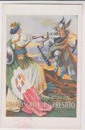 Affiche De La Grande Guerre Sottoscrivete Al Prestito - Altri
