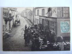 CPA Originale Moisson Le Marché Aux Asperges ( S & O 78 ) 1907 Ou 17 - France