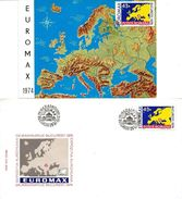 Romania 1974 Maximum Card And FDC Euromax Philatelic Exhibition - 1948-.... Républiques
