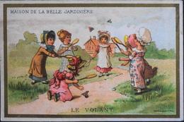 Très Belle Chromo. Tour Doré - MAISON De La BELLE JARDINIERE - 2, Rue Du Pont-Neuf à PARIS - Jeu Du Volant - TBE - Trade Cards
