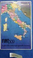 CARTONCINO A FORMA DI CARTOLINA MISURATORE DISTANZE - ANNI 30 (SX1003 - Pubblicitari