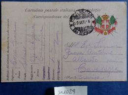 CARTOLINA IN FRANCHIGIA 52 DIVISIONE 1916 (SX1029 - Franchigia