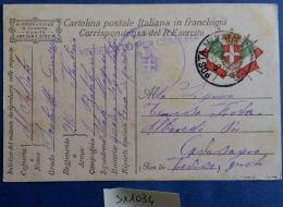 CARTOLINA IN FRANCHIGIA CENSURA (SX1034 - Franchigia