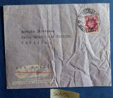 LETTERA ERITREA CON FRANCOBOLLO SS -NON PERFETTA (SX1094 - Eritrea