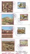 Italia 1984 - Turistica Su 4 FDC - FDC
