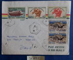 LETTERA SENEGAL 1963 COMMEMORATIVA (SX1125 - Senegal (1960-...)