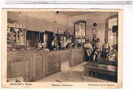 CPA 51 CHALONS SUR MARNE QUARTIER CORBINEAU INTERIEUR CANTINE MUSICIENS 1934 CE519 - Châlons-sur-Marne