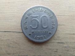 Indonesie  50  Rupiah  1971  Km 35 - Indonesia