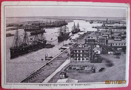 EGYPT - PORT SAID, ONE PAGE FROM OLD BOOKLET - Bookplates