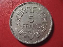 5 Francs Lavrillier 1947 9436 - France
