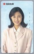 JP.- Japan, Telefoonkaart. Telecarte Japon. DAME. Vrouw. - Personen