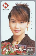 JP.- Japan, Telefoonkaart. Telecarte Japon. NISSAY. - NEO'. DAME. Vrouw. - Personen