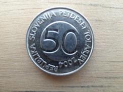 Slovenie  50  Tolarjev  2004  Km 52 - Slovénie