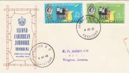 FDC TRINIDAD & TOBAGO 1961 (SY79 - Trindad & Tobago (1962-...)