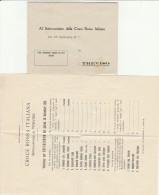 DOCUMENTO 1920 ELEZIONI COMITATO CROCE ROSSA (SY92 - Timbri Generalità