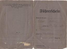 PATENTE (SE HO TRADOTTO BENE) TEDESCA 1936 - SEGNI DEL TEMPO (SY111 - Timbri Generalità