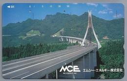 JP.- Japan, Telefoonkaart. Telecarte Japon. BRUG. - MCE. - MC ENERGY INC. - Telefoonkaarten