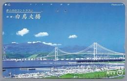 JP.- Japan, Telefoonkaart. Telecarte Japon. BRUG. - NTT - Telefoonkaarten