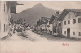 AK - Salzburg - Golling - Strassenansicht - 1900 - Golling
