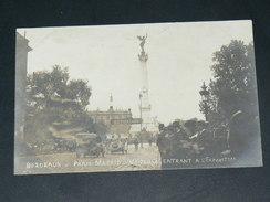 BORDEAUX   1900   COURSE AUTOMOBILE PARIS MADRID   CIRC  EDIT CARTE PHOTO - Bordeaux