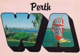 Postcard Perth Western Australia PU Cannington 1988 By Midge My Ref B22084 - Perth