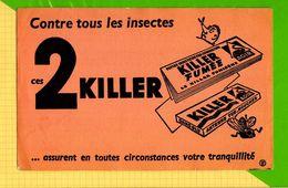 BUVARD & Blotting Paper :Contre Les Insectes 2 KILLER - Löschblätter, Heftumschläge