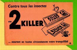 BUVARD & Blotting Paper :Contre Les Insectes 2 KILLER - Buvards, Protège-cahiers Illustrés