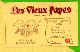 BUVARD & Blotting Paper : Les Vieux PAPES  Montpellier - Liquor & Beer