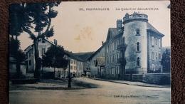 CPA PONTARLIER DOUBS LE QUARTIER DES LAVAUX ED FAIVRE 1938 - Pontarlier