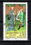 Francia   -  1991. Febus, Noto Esperto Di Caccia E Musicista. Well-known Hunting Expert And Musician - Famous People