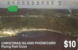 *CHRISTMAS ISLANDS* - Scheda Usata - Christmas Island