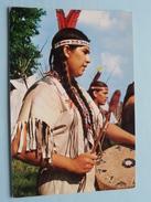 Indiens Du Canada CAUGHNAWAGA ( KA-NA-WA-KE ) ( Lyna ) Anno 19?? ( Zie Foto's Voor Details ) ! - Cartes Modernes