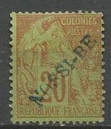 NOSSI-BE YVERT N° 26 NEUF* CHARNIERE GOM PATIEL TB / MH - Nossi-Bé (1889-1901)