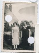 Femme   Snapshot Amateur Lumière Accident Négatif Ovni Ufo Ciel Sky Surrealisme - Personnes Anonymes