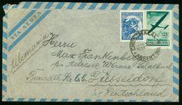 BR Argentinien, Chos Malal - 1951 Luftpost Brief Nach BRD, Düsseldorf - Luftpost